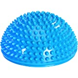 Hedgehog Style Balance Pod (Single Pack) - Inflated Stability Wobble Cushion - Exercise Fitness Core Balance Disc - Perfect for Home and Gym Use - by Utopia Fitness