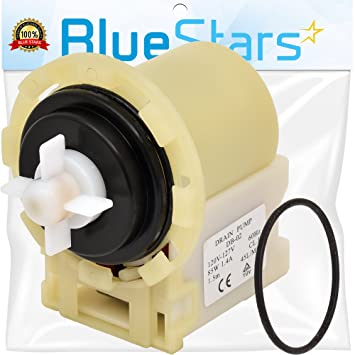 Blue Stars 8540024 - Bomba de desagüe para lavadoras Whirlpool ...