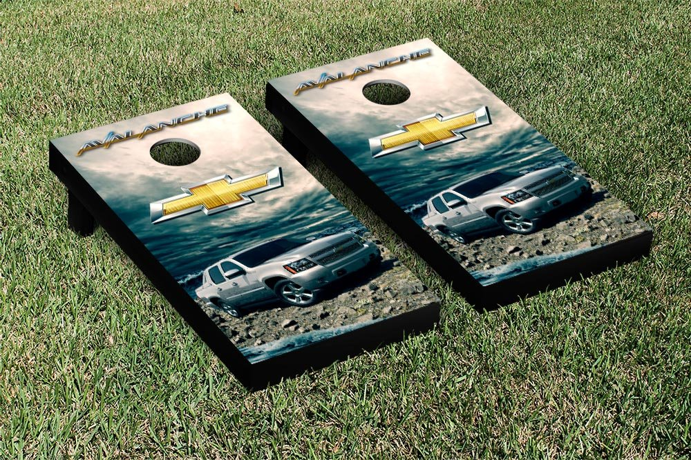 Chevy Set木製 Chevy Avalanche Cornhole B00F6AOE2Y Game Set木製 B00F6AOE2Y, コガネイシ:f714c2d5 --- sharoshka.org