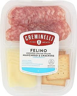 product image for Creminelli, Cracker Tray Felino Manchego, 2 Ounce