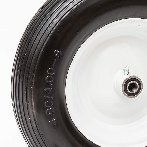 Amazon.com: Neumático universal para carretilla de solapa ...