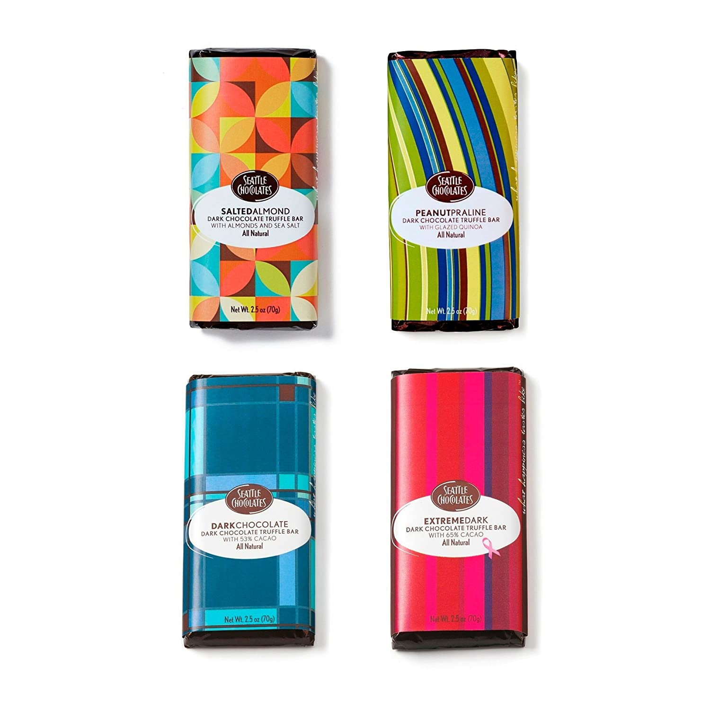 Amazon.com : Vegan Gift Box for Dark Chocolate and Nut Lovers ...