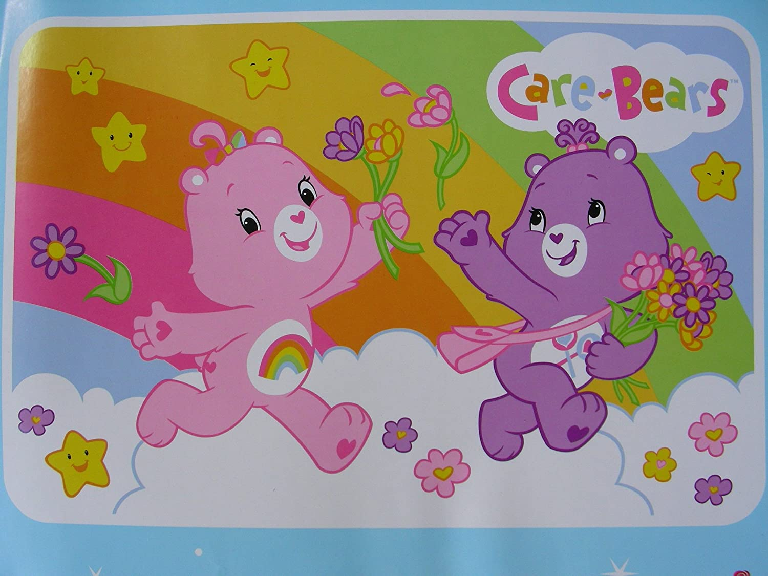 48 x 72 Rug JPI care-bears-rug00950-fbu Super Soft /& Thick Surface Carebears Rug Officially Licensed 100/% Polyester