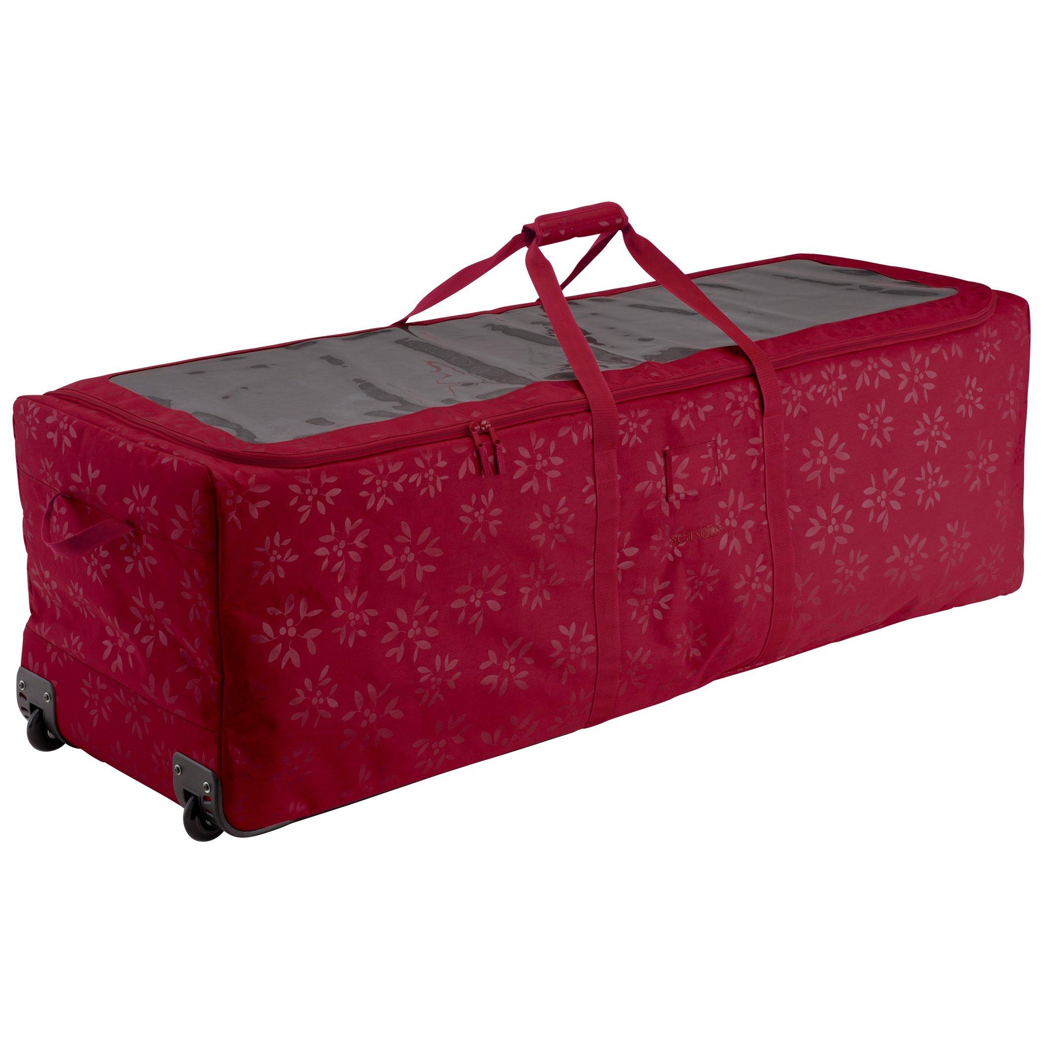 Artificial Christmas Tree Storage Bag Box Bin Rolling