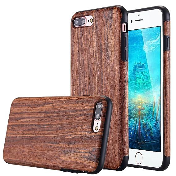 wood case iphone 8 plus