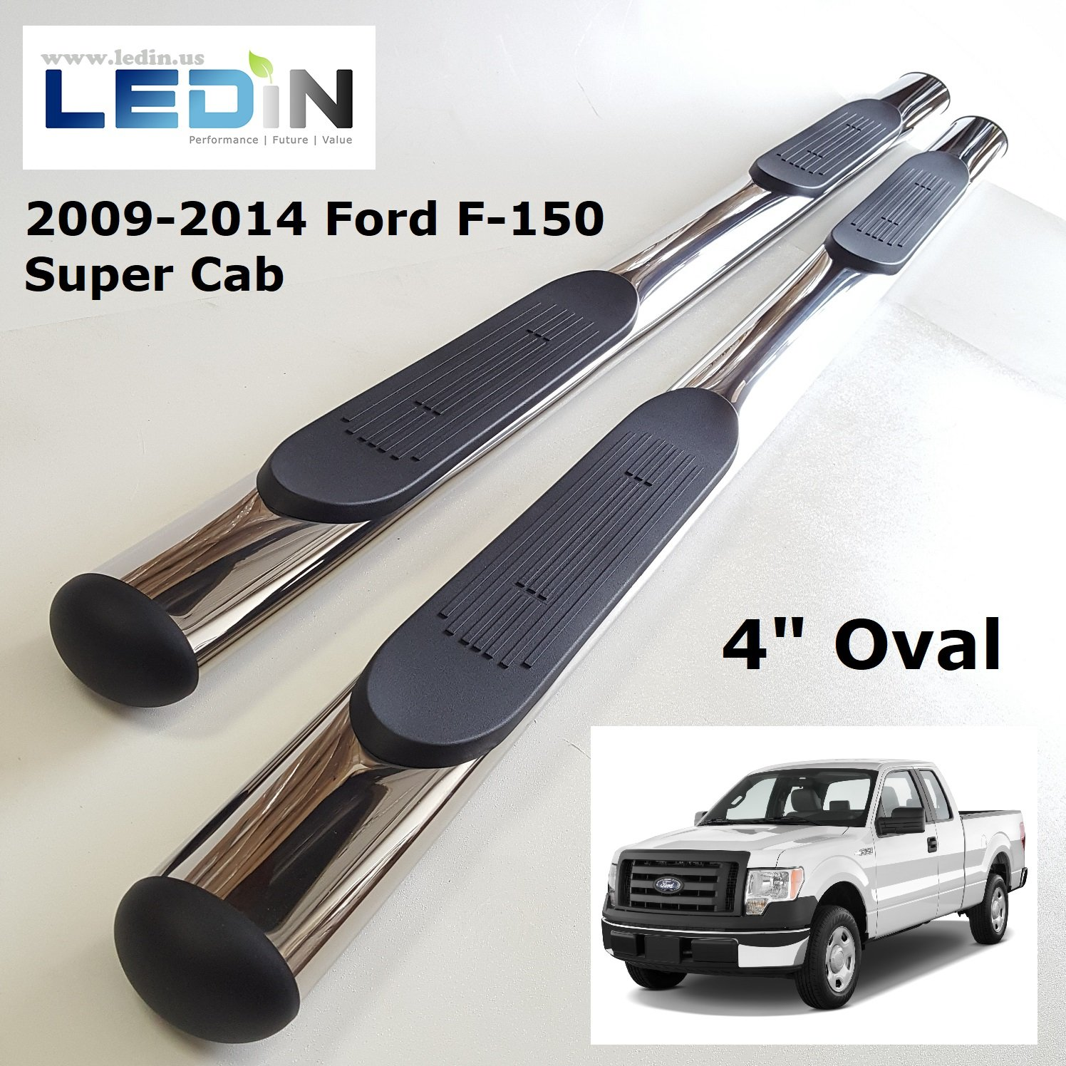9qautoparts Front Right Passenger Side Running Board Motor for Ford F150 2007-2014 AL3Z16A506A AL3Z-16A506-A