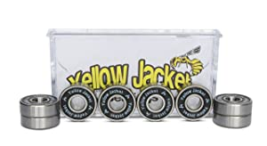 Yellow Jacket Premium Skateboard Bearings