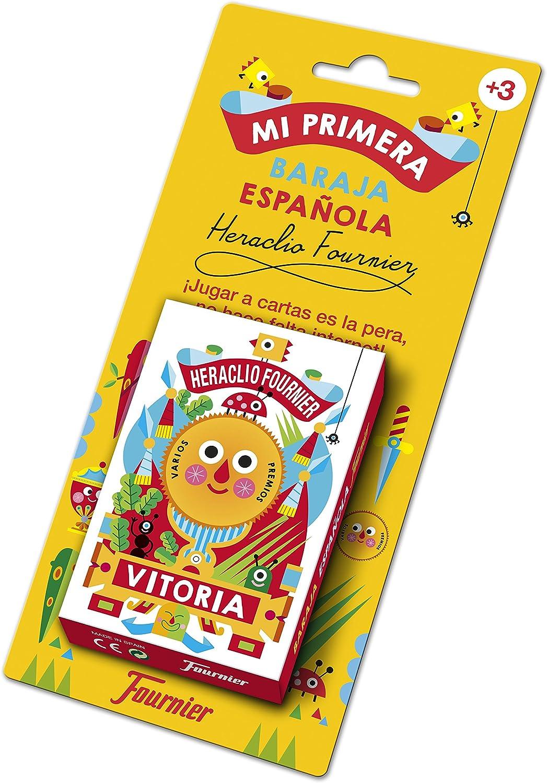 Fournier-Mi Primera Baraja Española Cartas Infantil, Multicolor (1030939): Amazon.es: Juguetes y juegos