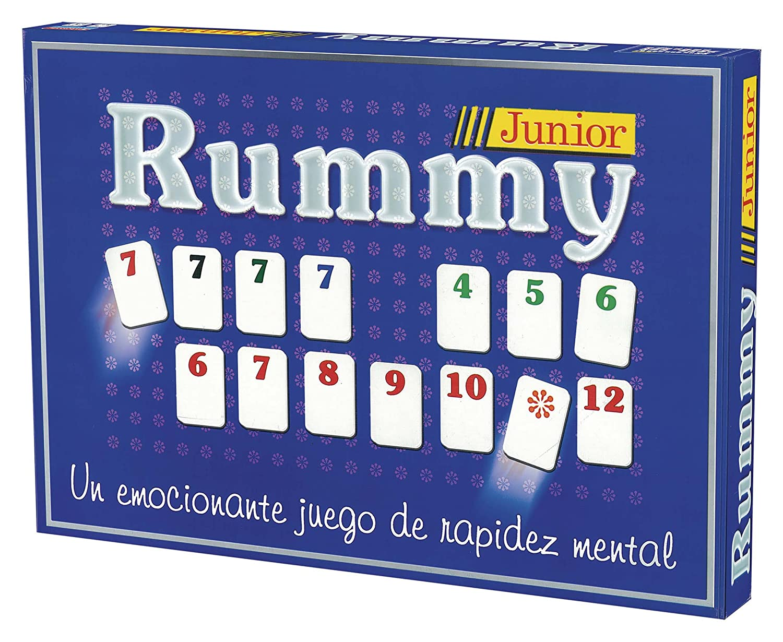 Falomir Juego Rummy Junior 646456 Amazon Es Juguetes Y Juegos