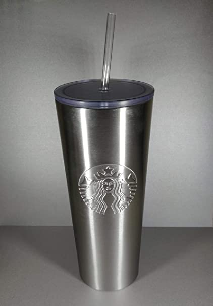 3496876f6e3 Image Unavailable. Image not available for. Color: Starbucks 2019 Brushed  Stainless Steel Tumbler 24 oz
