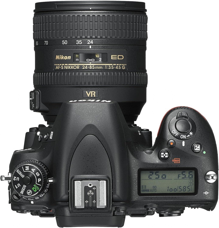 24,3/Megapixel 8/GB SD 400/x Lexar schwarz Nikon D750/+ NIKKOR VR 24//120/SLR Digitalkamera
