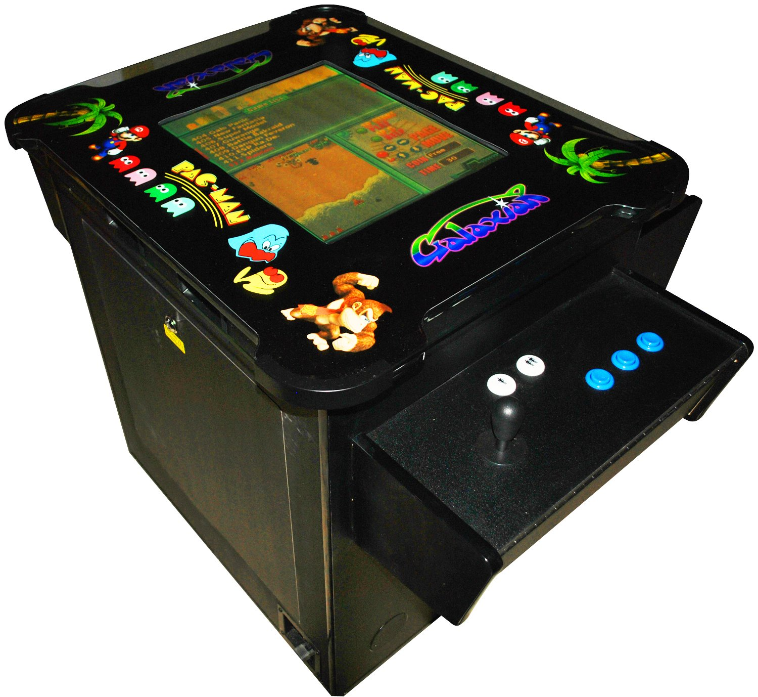 Cocktail Arcade Cabinet Kit Amazoncom Cocktail Arcade Machine 1030 Games In 1 3 Sided