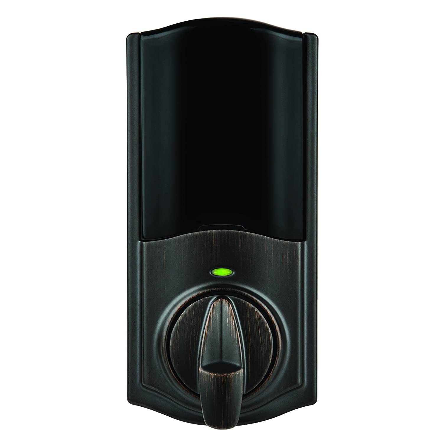 Kwikset Kevo Convert Smart Lock Conversion Kit, Works with Amazon Alexa via Kevo Plus, in Venetian Bronze