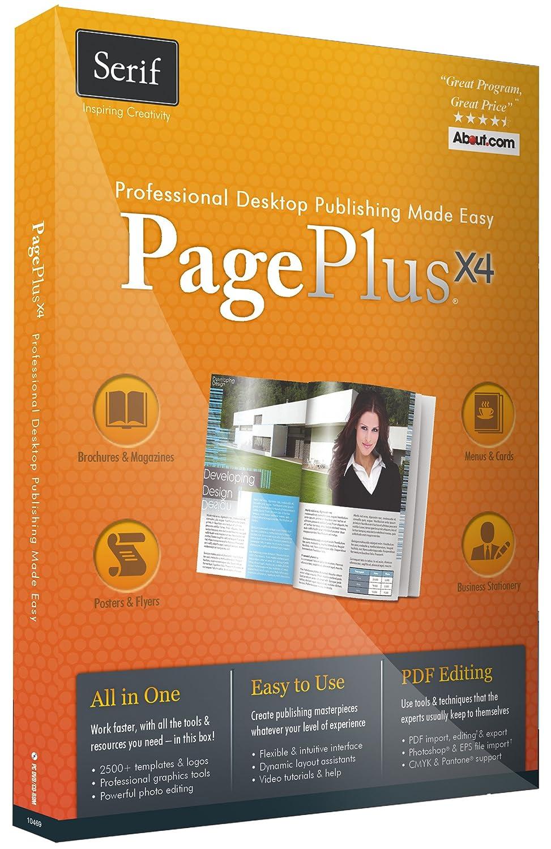Amazon.com: Serif PagePlus X4: Software