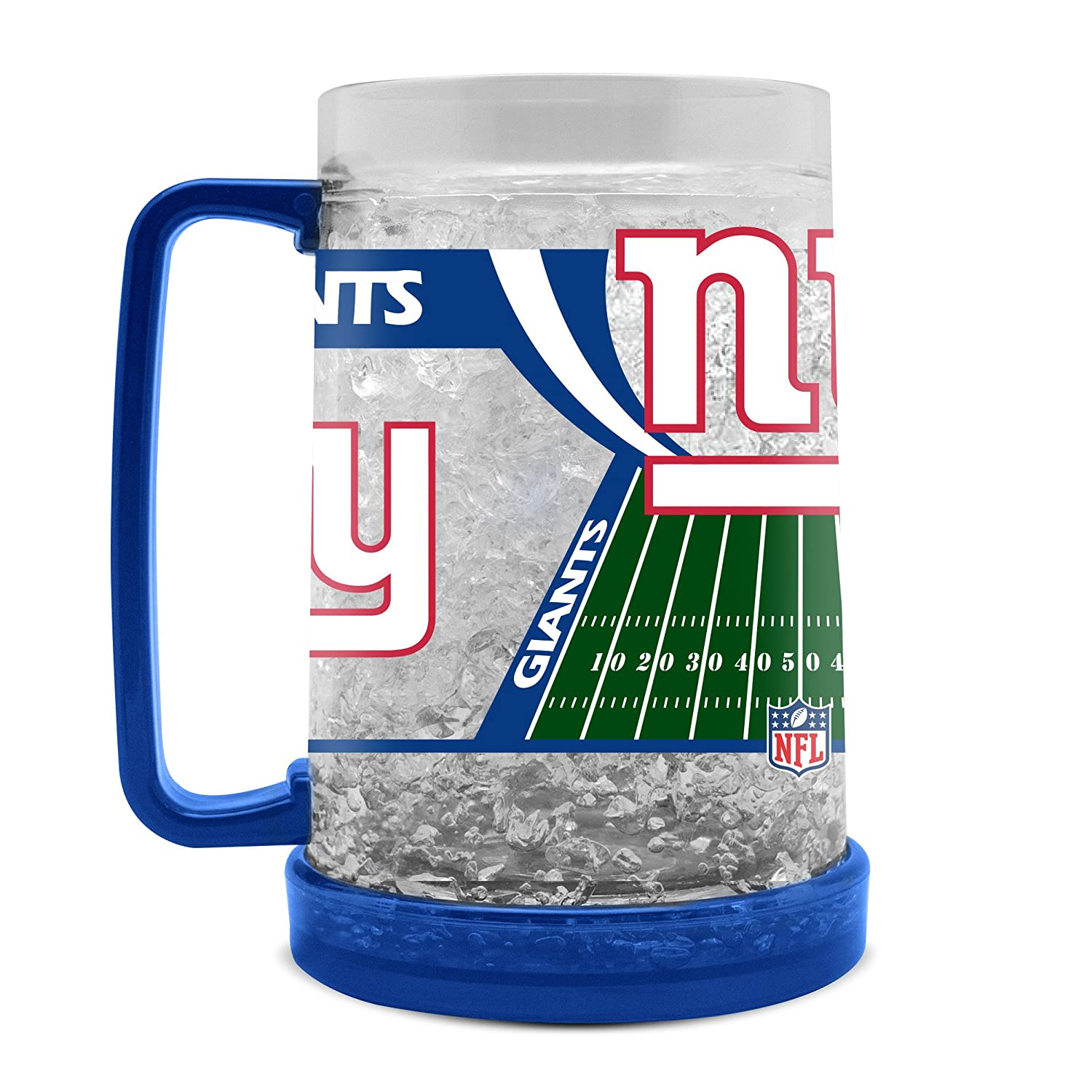 NFL New York Giants 16oz Crystal Freezer Mug