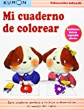Mi cuaderno de colorear.: Habilidades básicas: expresión plástica (Kumon)