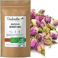 Biologische rozenknopjes roos hele thee 100 g - gedroogde rozen
