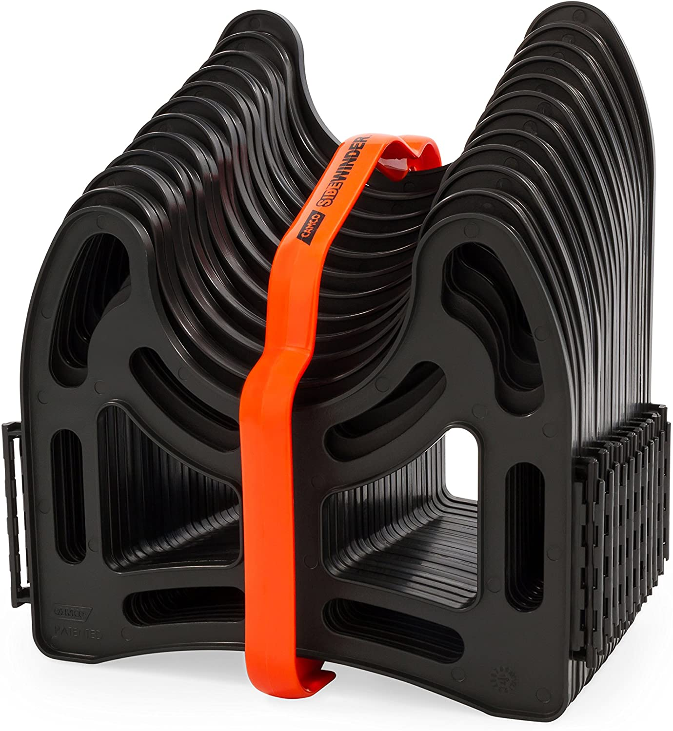 Amazon Com Camco 43031 10ft Sidewinder Rv Sewer Hose Support Made From Sturdy Lightweight Plastic Won T Creep Closed Holds Hoses In Place No Need For Straps Automotive