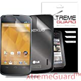 LG GOOGLE NEXUS 4 XtremeGUARD© FULL BODY Screen Protector Front+Back (Ultra CLEAR)