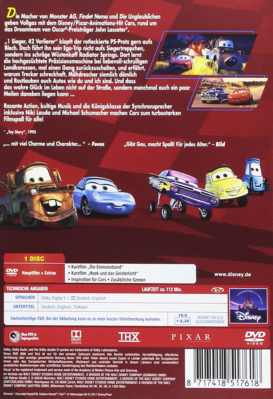 Amazon.com: Cars, 1 DVD: Cine y TV