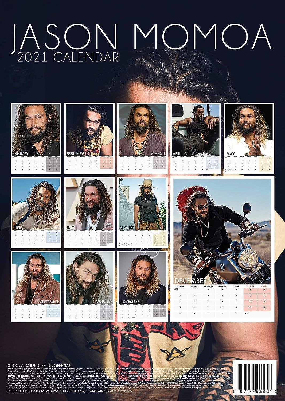 Pictures of Jason Momoa Calendar 2021