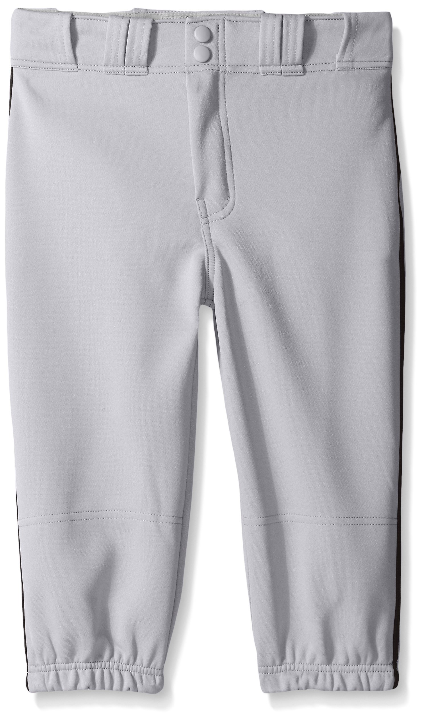 Easton Boys PRO Plus Piped Knicker, Grey/Black, Youth XL by Easton