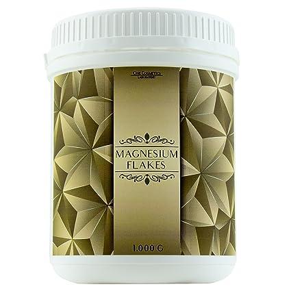 Premium copos de magnesio – 500 g & 1 kg – Cloruro de magnesio – para