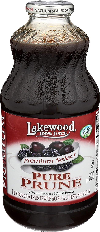 Lakewood, Juice Prune Pure Organic, 32 Fl Oz