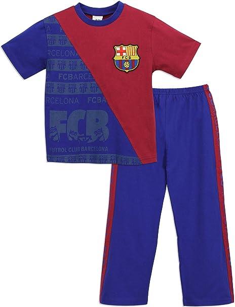 Barcelona F.C. - Pijama para Niños 9-10 Años