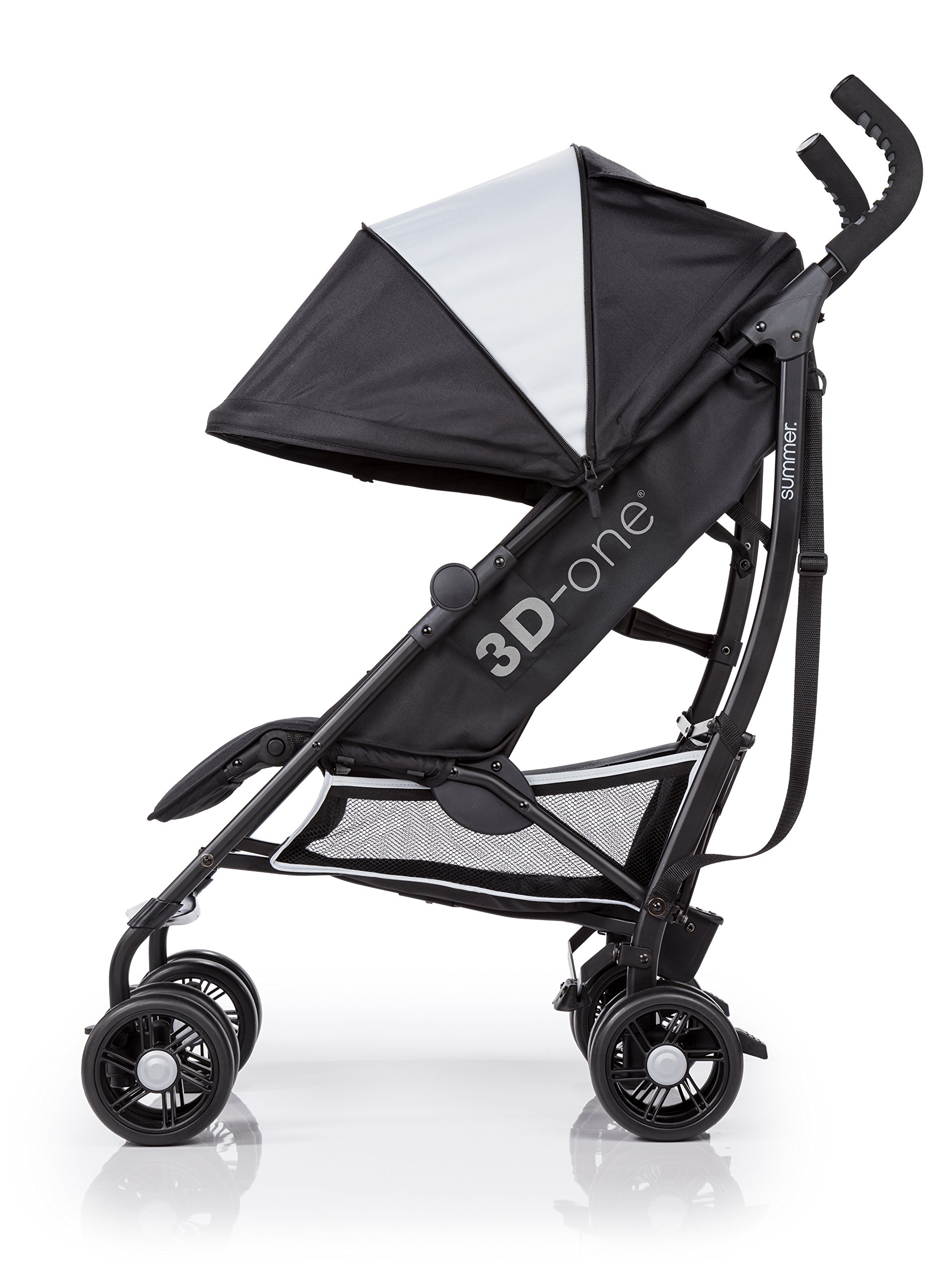 Summer Infant 3D-one Convenience Stroller, Eclipse Gray by Summer Infant (Image #12)