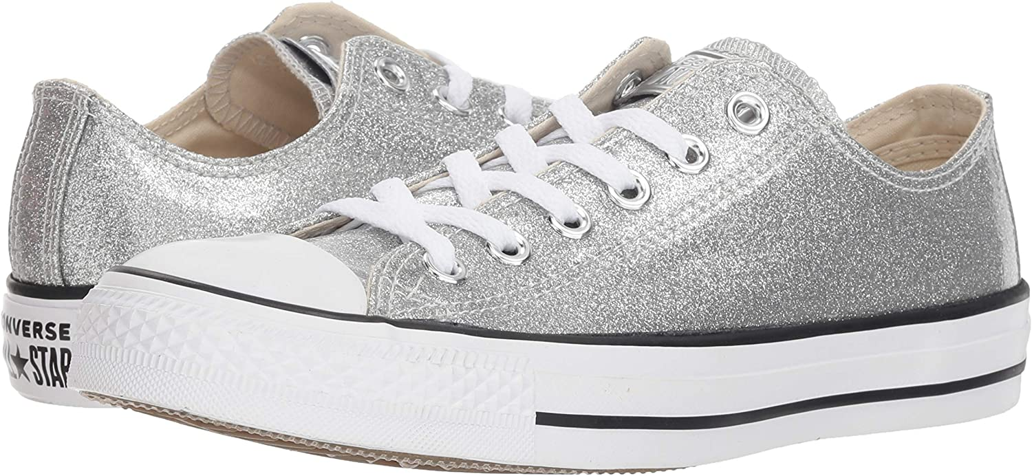 Converse Chuck Taylor All Star Synthetic OX Sneaker Damen Silbern Sneaker Low