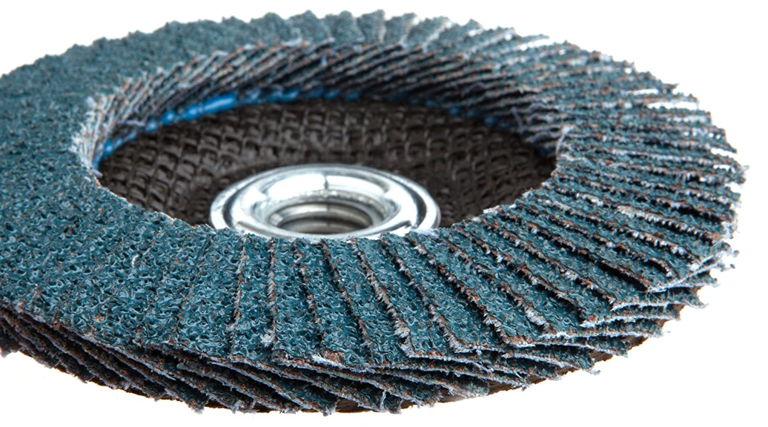 Type 29 Blue Zirconia with 5//8-Inch-11 Threaded Arbor Forney 71930 Flap Disc 4-1//2-Inch 36-Grit