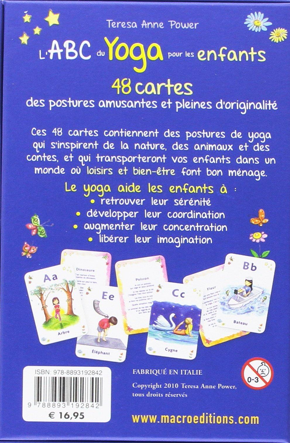 Coffet lABC du yoga pour les enfants - 48 cartes des ...