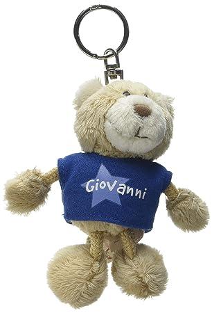 NICI n15876 - Llavero Oso con Camiseta Giovanni, Azul ...