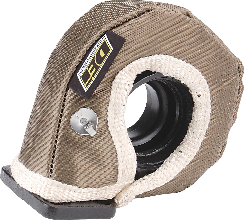 Design Engineering 010146 T6 Titanium Turbo Shield Custom Fit Turbo Blanket 26 x 3.75 26 x 3.75