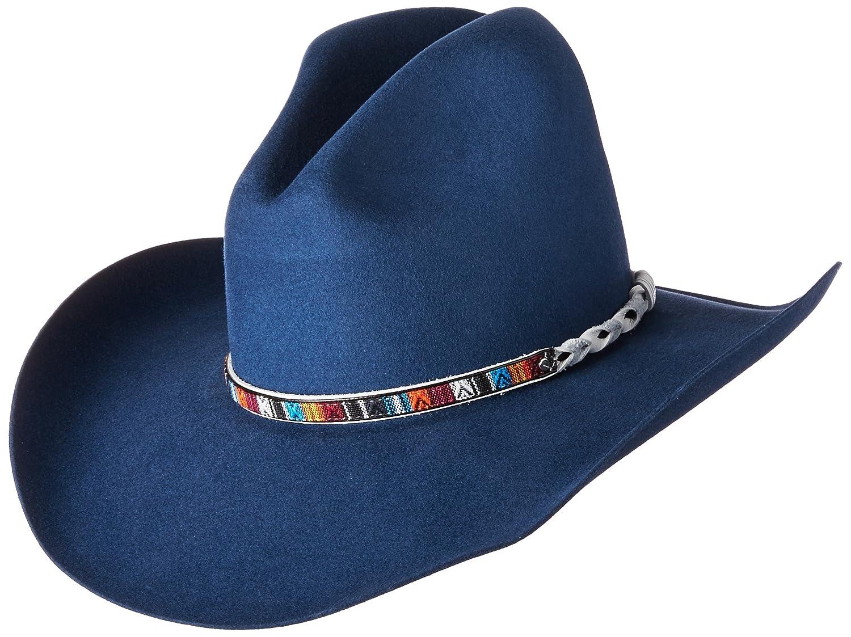 cfc4eafa701e5 Bailey Western Men s Rampart Western Cowboy Hat at Amazon Men s Clothing  store