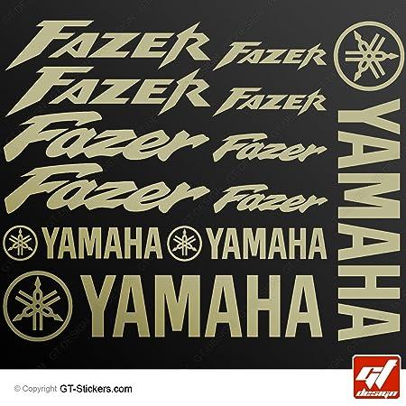 Aufkleber Yamaha Fazer Gold Brett 16 Sticker
