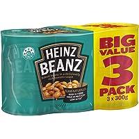 Heinz Baked Beans in Tomato Sauce,3 x 300g