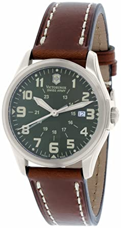 Kevin Jewelers Mens Victorinox Swiss Army Infantry Vintage Quartz Mens Watch #241309