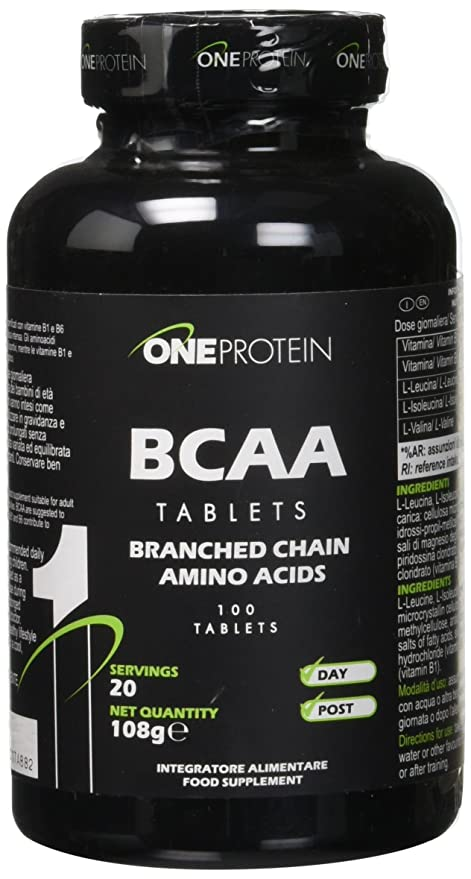 ONE PROTEIN BCAA Tablets 100 comprimidos