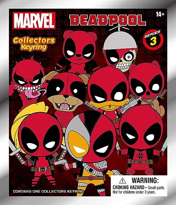 Marvel Deadpool One Mystery Figure Funko Blind Bag Keychain