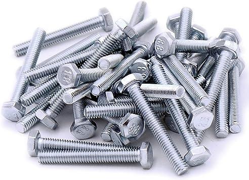 Tornillos hexagonales M4 (4 mm x 30 mm) (rosca completa) – acero ...