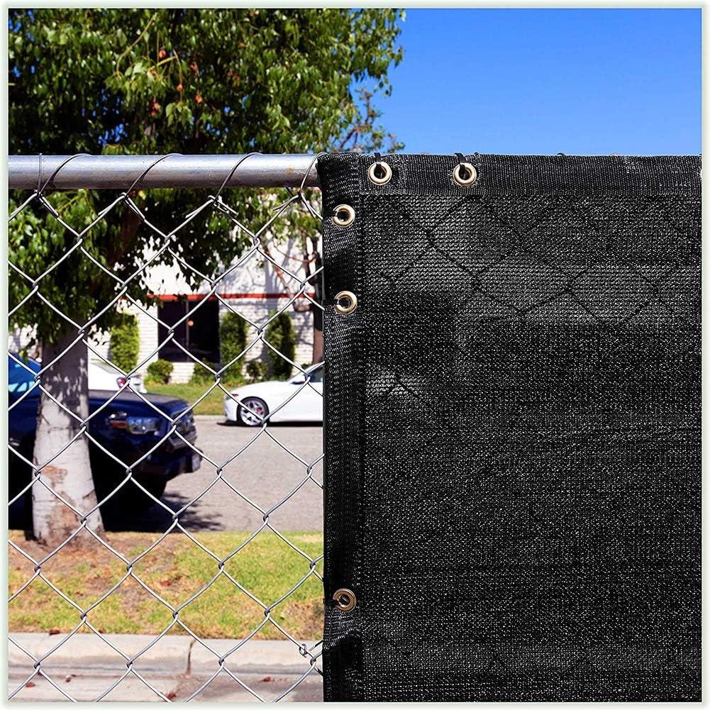 Tela de sombra Paño de Tela de Sombrilla de Jardín Panel de Privacidad con Ojales, Vela Sombra Rectángulo Negro Toldo para Patio/Pérgola (Size : 0.9×5m): Amazon.es: Hogar