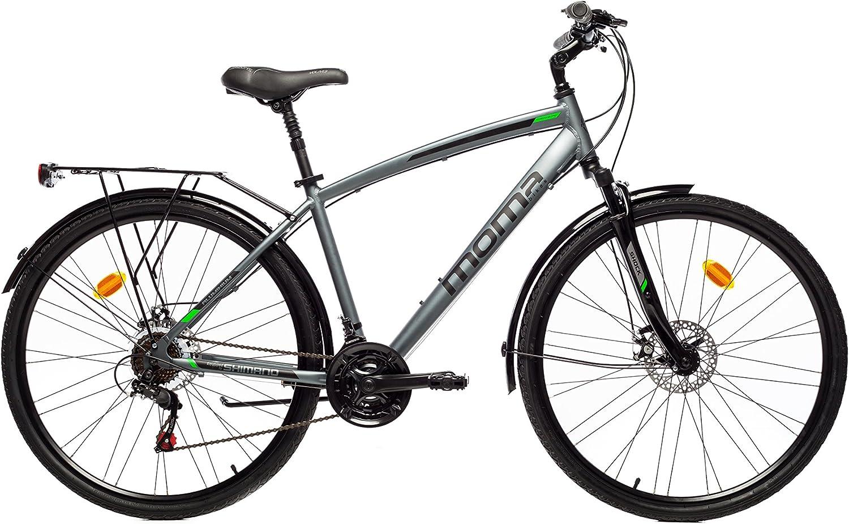 Moma Bikes Bicicleta Trekking / Paseo TREKKING PRO M 28