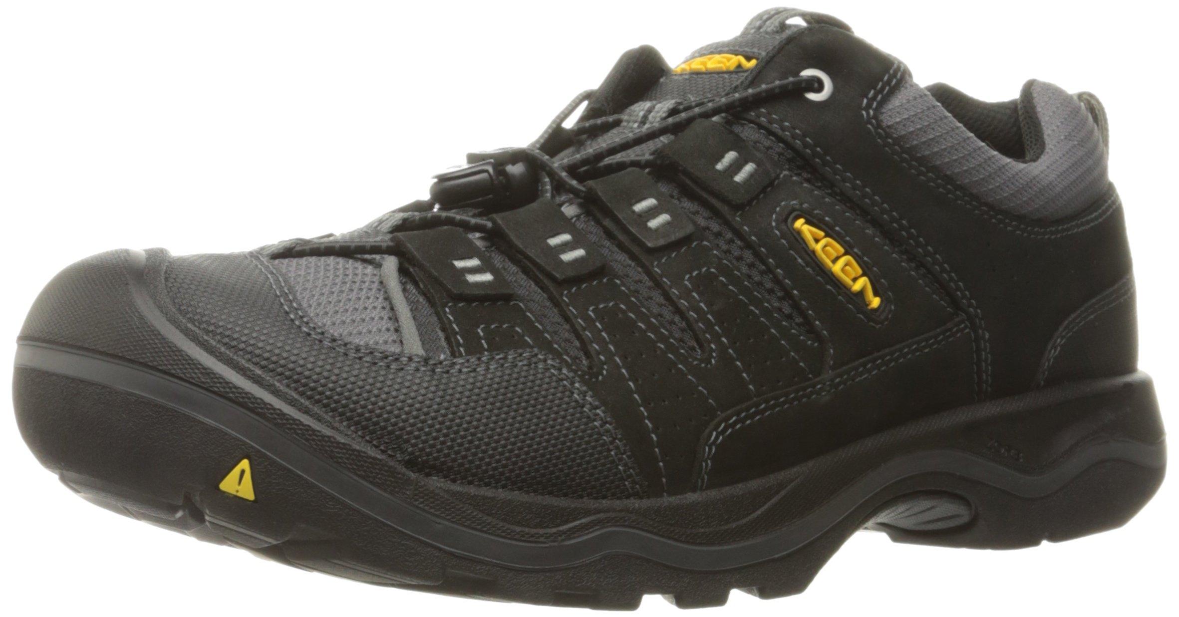 KEEN Men's Rialto Traveler Shoe, Black, 7.5 M US
