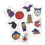 Glow-In-The-Dark Halloween Tattoos (6 Dozen) - Bulk