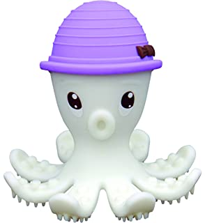 Baby Silicone Teether Octopus Molar Stick Sensory Chew Toy BPA Free G