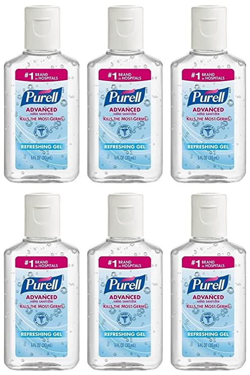 Buy Purell Advanced Hand Sanitizer Gel 1 Oz Travel Size 6 Online