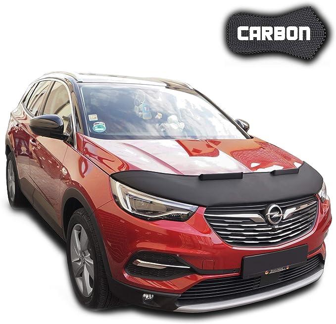 Hood Bra Qashqai 2 J11 CARBON Car Mask Bonnet Cover Front End Stone protection