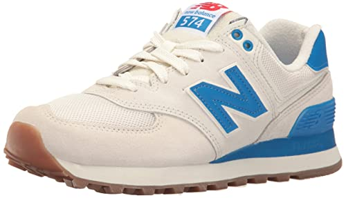 huge selection of 2c048 e132f New Balance Women s 574 Retro Sport Pack Lifestyle Fashion Sneaker, Sea Salt Electric  Blue